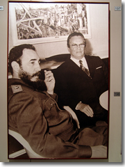 The museums on Brijuni commemorate Marshal Tito's time on teh island, meeting with world leaders like Fidel Castro.
