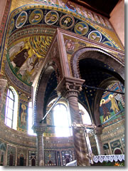 Porec's Basilica of Euphrasius is swathed in early Byzatine mosaics.