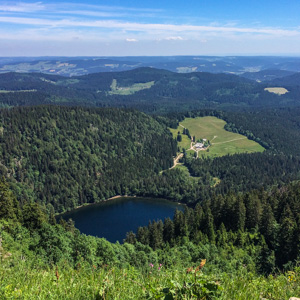 The Feldberg is the highest peak in the Schwarzwald of southern Germany