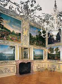 The Hunting Room in the Amenlienburg Pavilion of Schloss Nymphenburg, Munich
