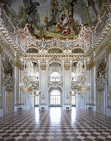 The Great Hall of Schloss Nymphenburg, Munich