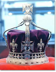 Queen Victoria's down with the Koh-i-Noor diamond.