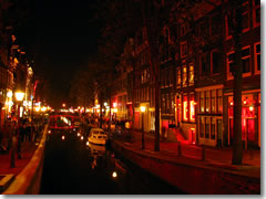 De Wallen, the Red Light District of Amsterdam