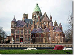 The new Church of St. Bavo, in Haarlem