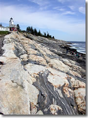 Pemaquid point lighthouse.