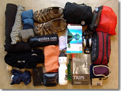 What to pack for a trip