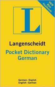 Langenscheidt Pocket Italian Dictionary: German-English/English-German