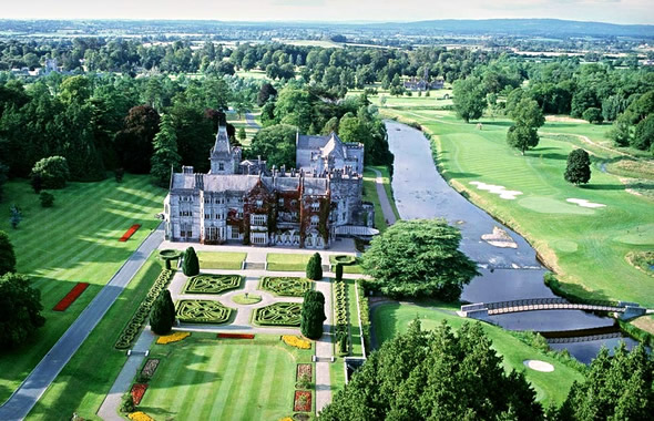 Top 10 Irish castle hotels